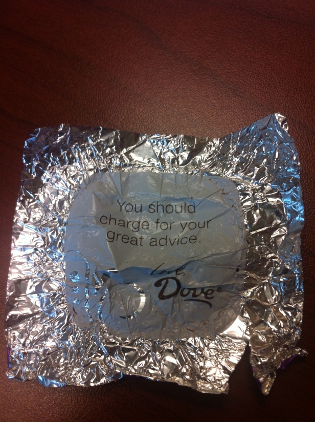 Even the Chocolate Knows