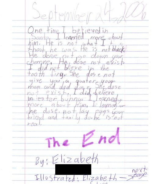 essay on time for kids
